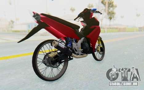 Yamaha Jupiter MX 135 Lock Style para GTA San Andreas vista direita