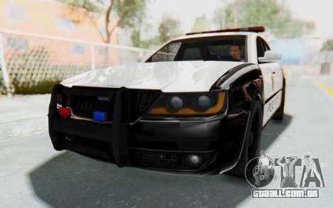 ASYM Desanne XT Pursuit v3 para GTA San Andreas vista direita