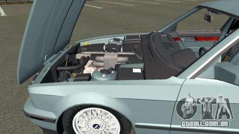 BMW 535i Gang para GTA San Andreas esquerda vista