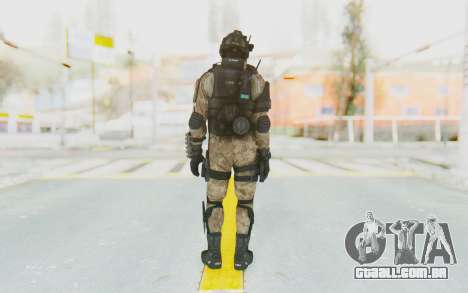 Federation Elite Shotgun Desert para GTA San Andreas terceira tela