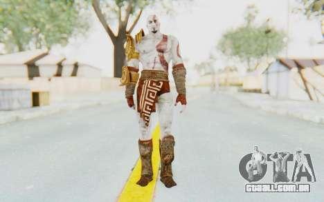 Kratos v1 para GTA San Andreas segunda tela