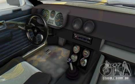 Opel Kadett C Coupe para GTA San Andreas vista traseira