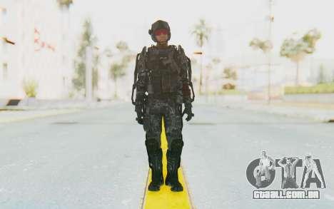 CoD Advanced Warfare ATLAS Soldier 2 para GTA San Andreas segunda tela