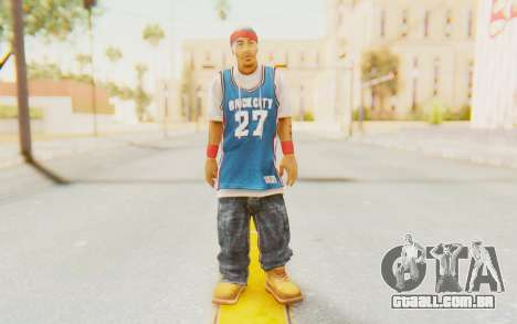 Def Jam Fight For New York - Redman para GTA San Andreas segunda tela