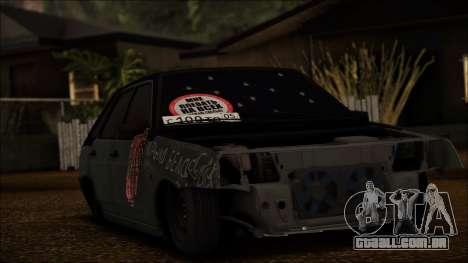2109 Vagabundo para GTA San Andreas esquerda vista