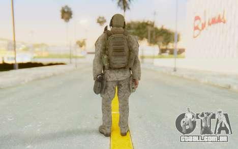 CoD MW2 Ghost Model v1 para GTA San Andreas terceira tela