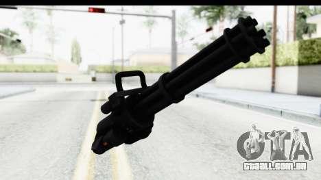 GTA 5 Coil Minigun v2 para GTA San Andreas segunda tela
