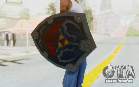 Hylian Shield HD from The Legend of Zelda para GTA San Andreas terceira tela