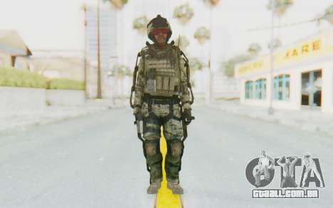 CoD AW US Marine Assault v3 Head C para GTA San Andreas segunda tela