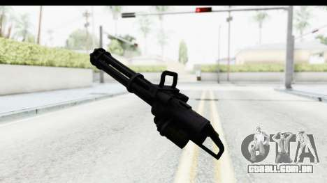 GTA 5 Coil Minigun v2 para GTA San Andreas terceira tela