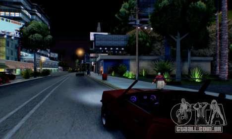 Chevrolet 369 Camaro SS para vista lateral GTA San Andreas