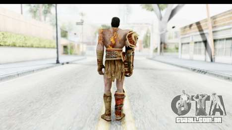 God of War 3 - Deimos para GTA San Andreas terceira tela