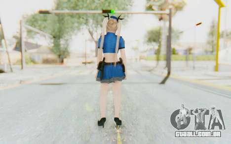 DoA 5: LR - Marie Rose Police v2 para GTA San Andreas terceira tela