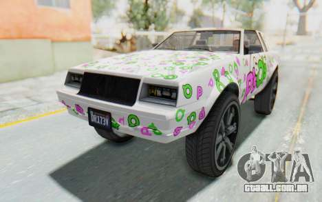 GTA 5 Willard Faction Custom Donk v2 IVF para GTA San Andreas