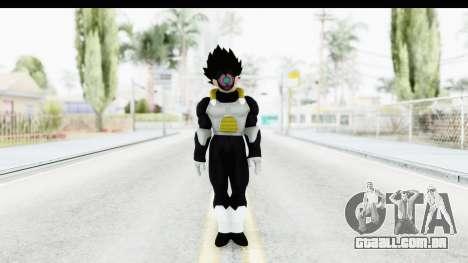 Dragon Ball Xenoverse Vegeta Timebreaker para GTA San Andreas segunda tela