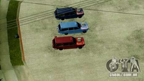 IKCO Paykan StiTion Sport para GTA San Andreas vista direita
