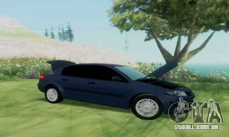Renault Megane 2004 para GTA San Andreas vista direita