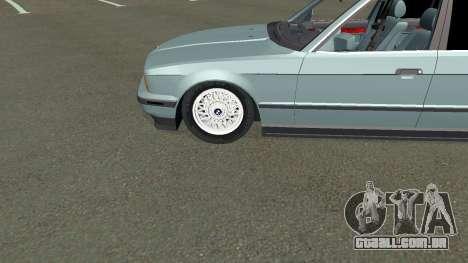 BMW 535i Gang para GTA San Andreas vista interior