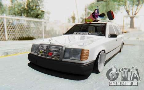 Mercedes-Benz W124 Stance Works para GTA San Andreas vista direita