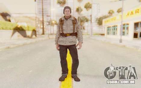 COD BO Russian Soldier v1 para GTA San Andreas segunda tela