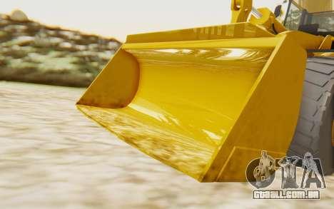 Caterpillar 966 GII para GTA San Andreas vista traseira