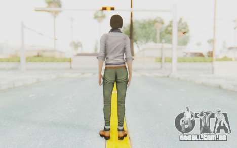 Far Cry 3 - Liza Snow para GTA San Andreas terceira tela