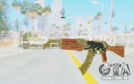 CS:GO - AK-47 Jaguar para GTA San Andreas