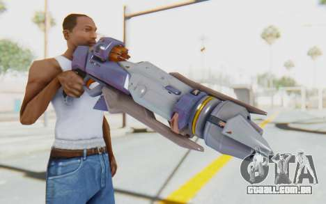 Pharah Mechaqueen Rocket para GTA San Andreas terceira tela