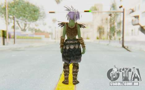 Skyrim - Khorah Orc v1 para GTA San Andreas terceira tela