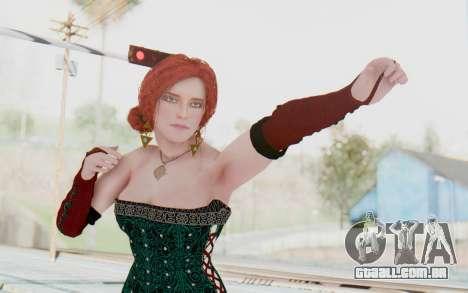 The Witcher 3 - Triss Merigold Dress para GTA San Andreas