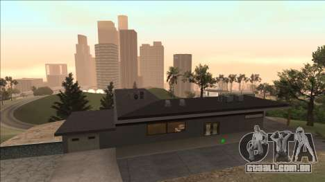 Beta Mulholland Safehouse para GTA San Andreas segunda tela
