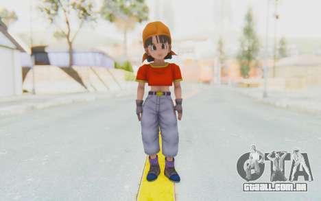 Dragon Ball Xenoverse Pan SJ para GTA San Andreas segunda tela