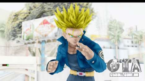 Dragon Ball Xenoverse Future Trunks SSJ1 para GTA San Andreas