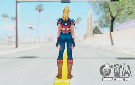 Marvel Future Fight - Captain America (2099) para GTA San Andreas terceira tela