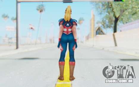 Marvel Future Fight - Captain America (2099) para GTA San Andreas terceira tela
