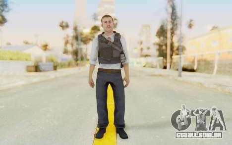 CoD MW2 Secret Service para GTA San Andreas segunda tela