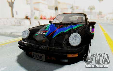 Porsche 911 Turbo 3.2 Coupe (930) 1985 para GTA San Andreas vista superior