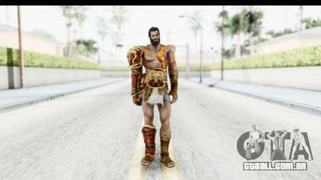 God of War 3 - Deimos para GTA San Andreas segunda tela