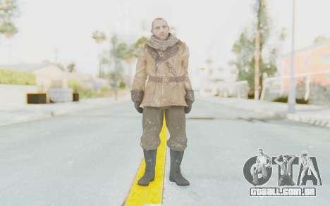 COD BO Lev Kravchenko Winter para GTA San Andreas segunda tela