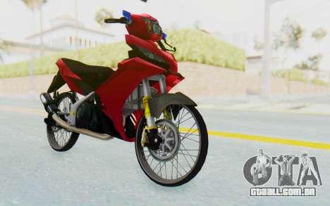 Yamaha Jupiter MX 135 Lock Style para GTA San Andreas