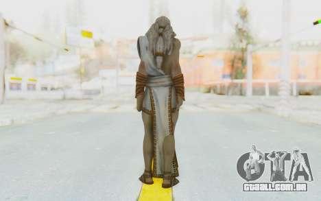 Zeus Skin para GTA San Andreas terceira tela