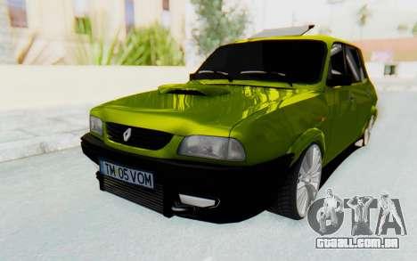 Dacia 1300 4x4 para GTA San Andreas traseira esquerda vista