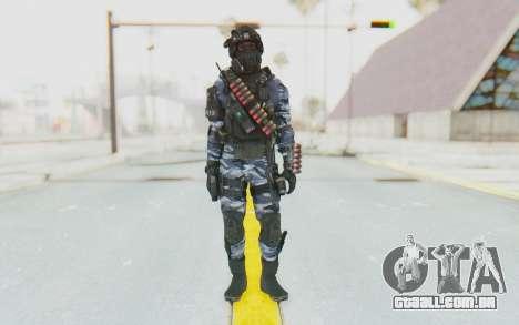 Federation Elite Shotgun Urban-Navy para GTA San Andreas segunda tela