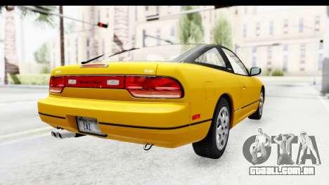 Nissan 240SX 1994 v1 para GTA San Andreas traseira esquerda vista