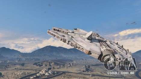 GTA 5 Star Wars Millenium Falcon 5.0 segundo screenshot