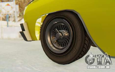 GTA 5 Declasse Voodoo para GTA San Andreas vista traseira