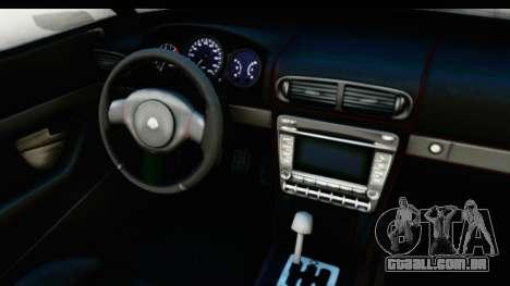 GTA 5 Lampadati Furore GT IVF para GTA San Andreas vista interior