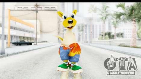 Kao the Kangaroo Round 2 para GTA San Andreas segunda tela