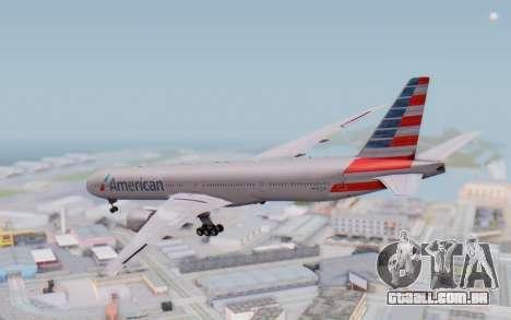 Boeing 777-300ER ANA JA755A - Gundam para GTA San Andreas esquerda vista