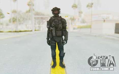 Federation Elite LMG Tactical para GTA San Andreas segunda tela